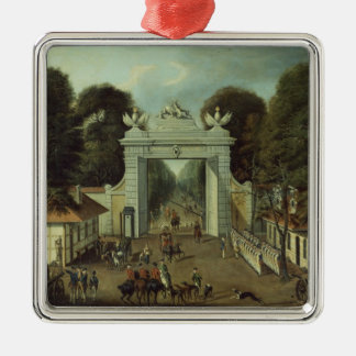 Jaga logen i Potsdam, c.1735 Julgransprydnad Metall