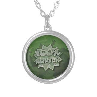 Jägare 100% silverpläterat halsband