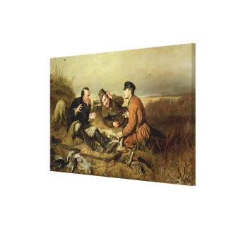 Jägare 1816 canvastryck