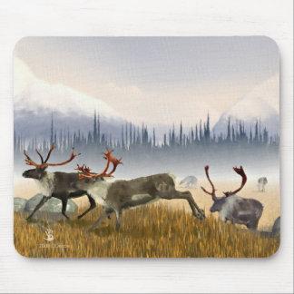 Jägare i misten (caribouen) musmatta