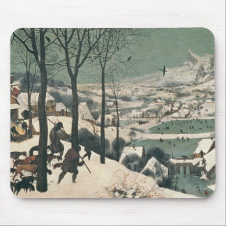 Jägare i snön - januari, 1565 musmatta
