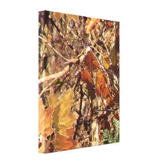 Jägare målning för Camo kamouflage skräddarsy Canvastryck