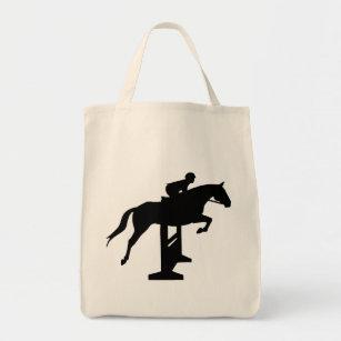 Jägarejumperhäst & ryttare tygkasse