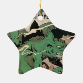 Jagaren Julgransprydnad Keramik