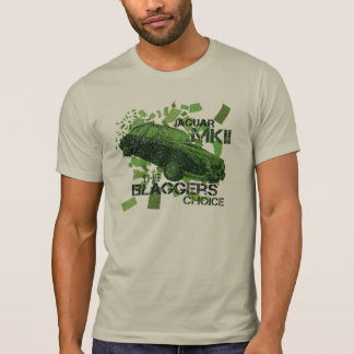 Jaguar MK2 Blaggers den primaa T-tröja T Shirt