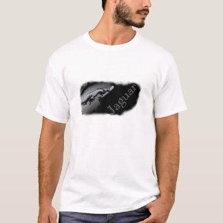 Jaguarkatt med text t-shirts
