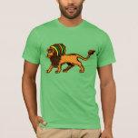 Jah kung lejona Rasta T-shirt