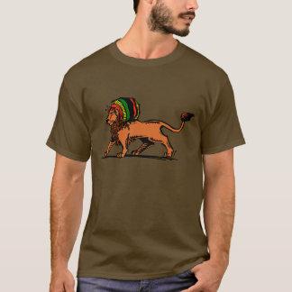 Jah kung lejona Rasta Tee Shirts