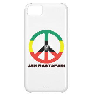 Jah Rastafari fredstecken Selassie mig iPhone 5C Fodral