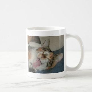 Jama gäspningen kaffemugg