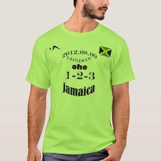 Jamaica 2012 1 Tshirt för OS 2 3 T Shirt