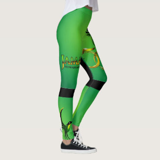 Jamaica 50th damasker leggings