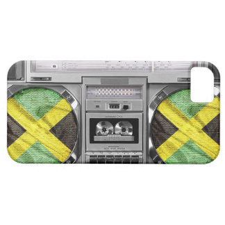 Jamaica boombox iPhone 5 Case-Mate skal