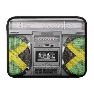 Jamaica boombox sleeve för MacBook air