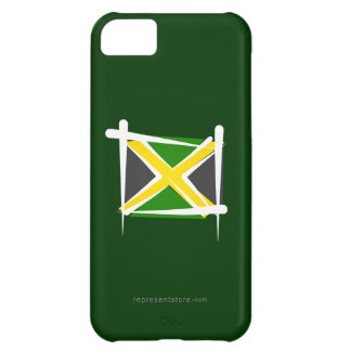 Jamaica borstar flagga iPhone 5C fodral