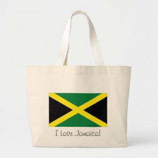 Jamaica flagga tygkasse