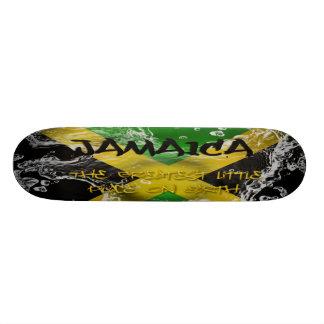 Jamaica för största stället lite på jord Skateb Skateboard Bräda 19,5 Cm