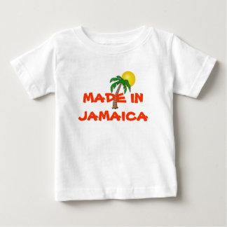 "JAMAICA: ""Gjort i Jamaica"" bebisskjorta Tshirts"