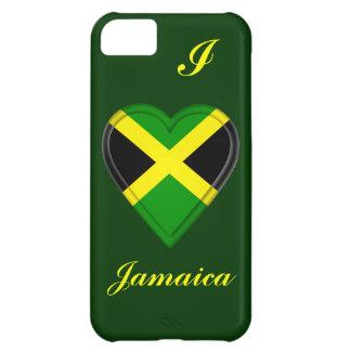 Jamaica jamaikansk flagga iPhone 5C fodral