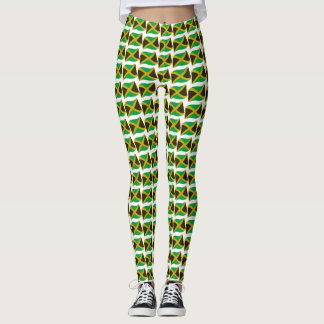 Jamaica tryckben leggings