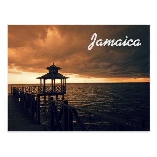 Jamaica vykort som Rafting på floden