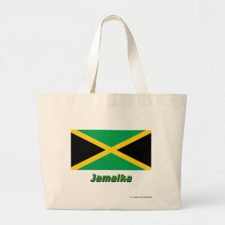 Jamaika Flagge mit Namen Kassar