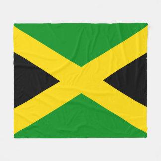 Jamaikansk flagga fleecefilt