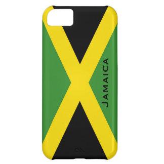 Jamaikansk gult Jamaica för flaggasvartgrönt iPhone 5C Fodral