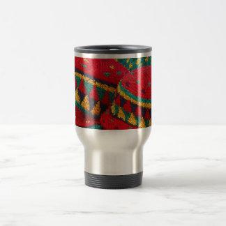 Jamaikansk hattkaffemugg rostfritt stål resemugg