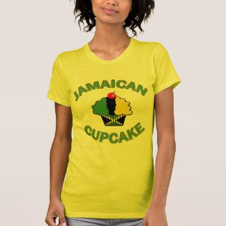 Jamaikansk muffin i jamaikanska färger tshirts