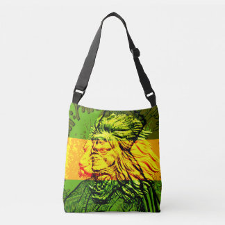 Jamaikanskt lejont av den Judah kor förkroppsligar Axelväska