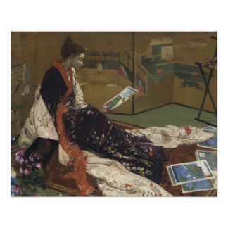 James Abbott McNeill Whistler - Caprice i lilor Poster