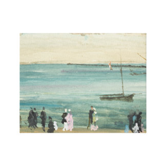 James Abbott McNeill Whistler - Southend pir Canvastryck