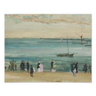 James Abbott McNeill Whistler - Southend pir Poster