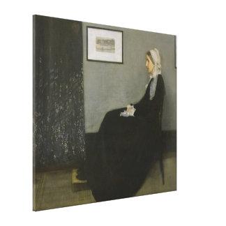 James Abbott Whistler - whistlers mor Canvastryck