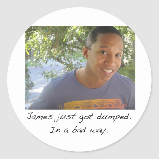 James klistermärke
