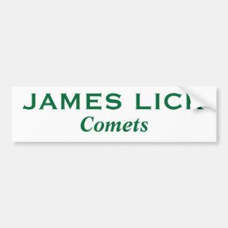 James Lick* bildekal