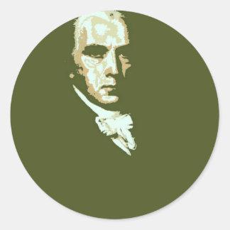 James Madison 4 Runda Klistermärken