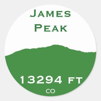 James maximal klistermärke