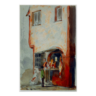 James McNeil Whistler Boutique de Boucher Poster