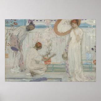 James McNeill Whistler - vitsymfonin Poster