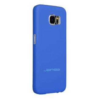 James täcker den stilfulla blåttSamsung galaxen Samsung Galaxy S6 Fodral