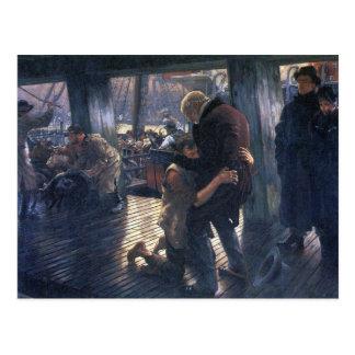 James Tissot - den Prodigal sonen i modernt liv - Vykort