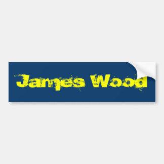 James träbildekal bildekal