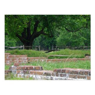 Jamestown fördärvar vykort