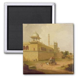 Jami Masjid, Delhi, 1811 (olja på kanfas) Magnet