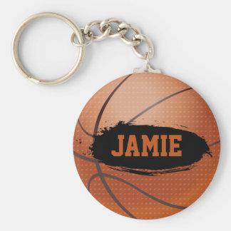 Jamie Grungebasket Keychain/nyckelring Rund Nyckelring