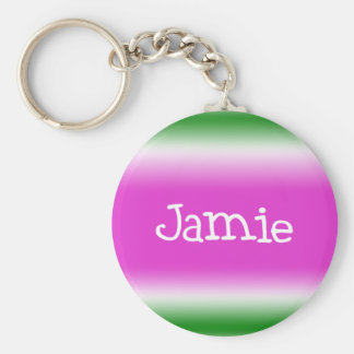 Jamie Rund Nyckelring