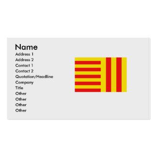 Jämlike Belgien Set Av Standard Visitkort