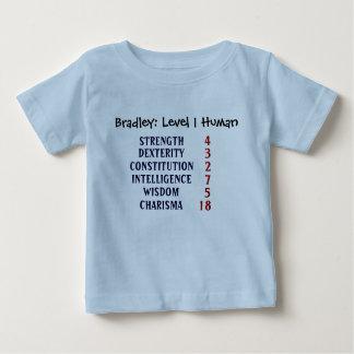 Jämna 1 människa t-shirt
